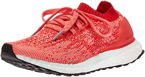 adidas Performance Girls' Ultraboost Uncaged j Running Shoe, Ray Red/Ray Pink/Shock Red, 5 M US Big Kid by adidas