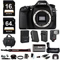 Canon EOS 80D DSLR Camera (Body) & TTL FLash & Battery Grip & 80GB Bundle Noticeable Review Image