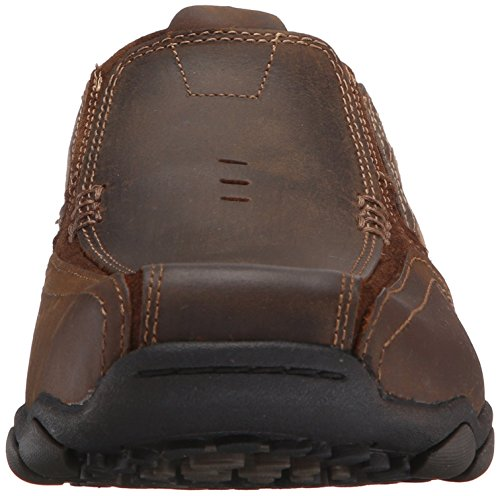 Marron Uomo Brown da Mocassini Marrone Diameter Skechers Zinroy x8z6wO