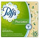 Puffs Cube Plus Tissues, 1 box, 56 ct