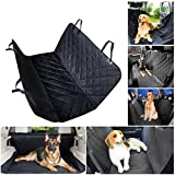 #5: LONENESSL Dog Seat Covers, 600D Waterproof Pet Car Seat Covers - Scratch Proof & Nonslip Backing & Hammock, Padded, For Cars Trucks and SUVs Best for Cars Trucks Suvs