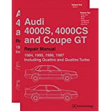 Audi 4000S, 4000CS and Coupe GT (B2) Repair Manual: 1984, 1985, 1986, 1987 (2 VOLUME SET)