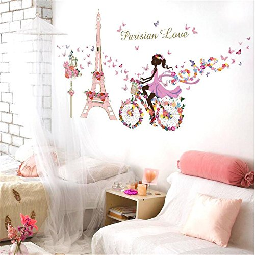Stickers Princess Butterfly Flowers Decoration product image
