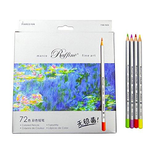 Hanperal 72- Color Colored Pencils Set ,