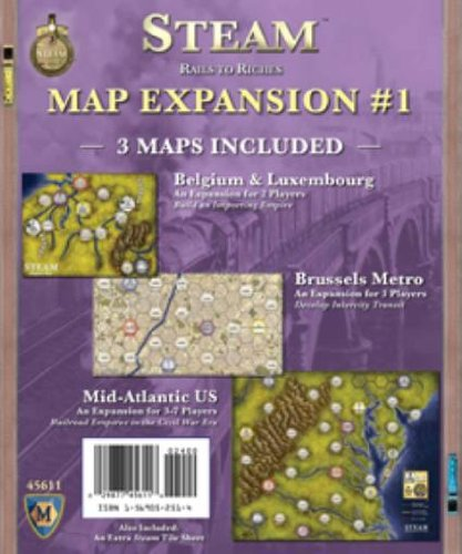 Map Expansion #1 - Belgium & Luxembourg, The Brussels Metro, & Mid-Atlantic US - Map Mayfair