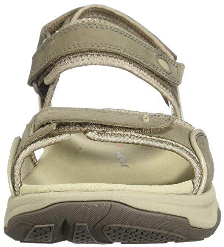 Sage Sandal Wave Women's CLARKS Nubuck Grip IgY0w