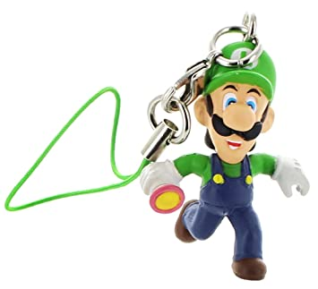 Super Mario Bros Mario Party 4 Clip On/Keychain Figure Luigi ...