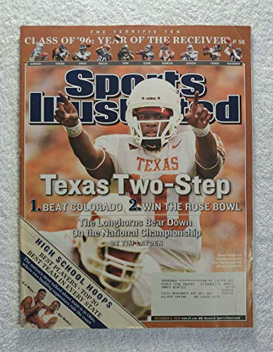 Vince Young - Texas Two Step - The Longhorns Bear Down On the National Championship - Sports Illustrated - December 5, 2005 - College Football - SI