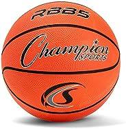 Champion Sport Pro Rubber Basketball, Size 23&