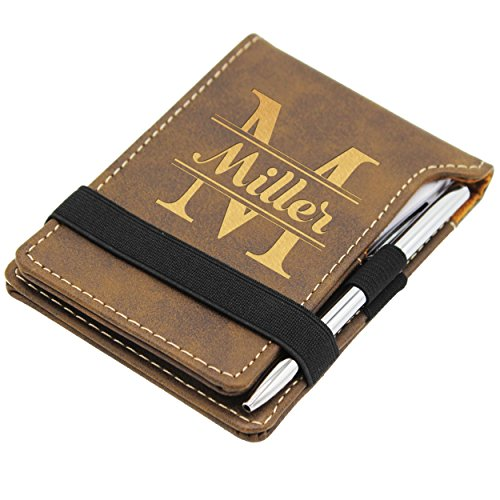 Personalized Business Graduation Gift - Custom Engraved Notepad ()