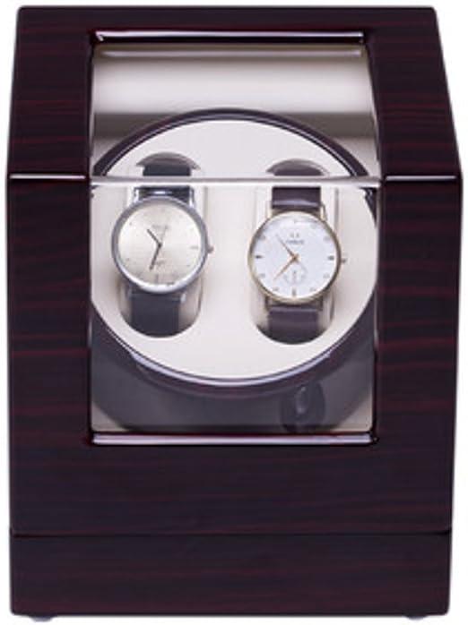 Caja Relojes Automaticos Watch Winder Reloj mecánico automático Gira el Reloj (Color : 2+0D): Amazon.es: Relojes