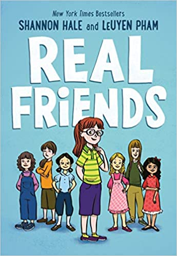 Image result for real friends book cover