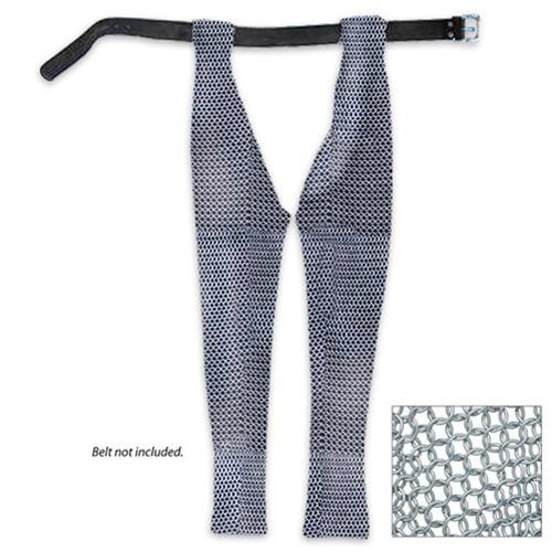 Medieval Battle Ready Chausses Chain Mail ()