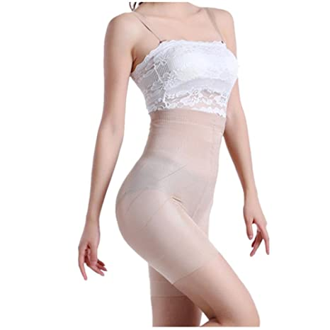 e252f383456b4 HOMEBABY Sexy Women Beauty Slimming Shapewear Fat Burning Slim Shape  Bodysuit Pants  Amazon.co.uk  Clothing