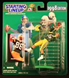 ANTONIO FREEMAN / GREEN BAY PACKERS 1998 NFL Starting Lineup Action Figure & Exclusive NFL Collector Trading Card