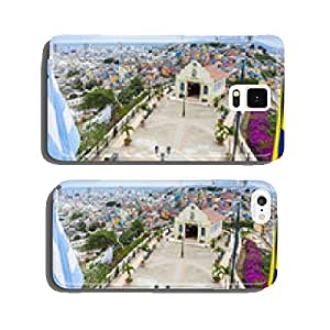 View from the Lighthouse of Santa Ana hill, Guayaquil (Ecuador) cell phone cover case iPhone6