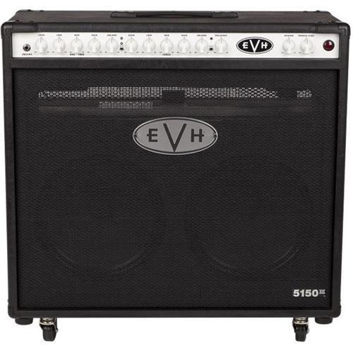 120v Guitar Amplifier (EVH 5150III 2x12-Inch 120v 50-watt Tube Combo Amplifier - Black)