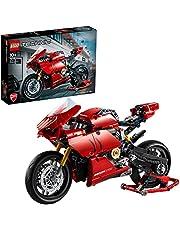 LEGO 42107 Technic Ducati Panigale V4 R Motorfiets, Exclusief Verzamel en Displaymodel, Geavanceerde Bouwset voor Tieners