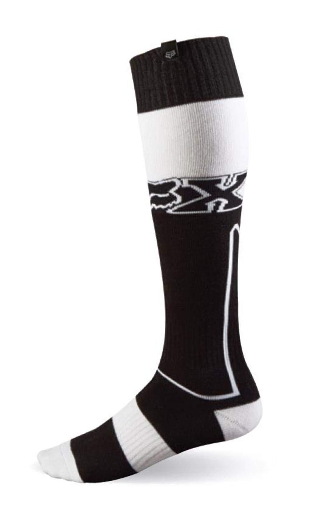 Fox Racing Fri Imperial Thick Men's MX Motorcycle Socks - Black/White/Small