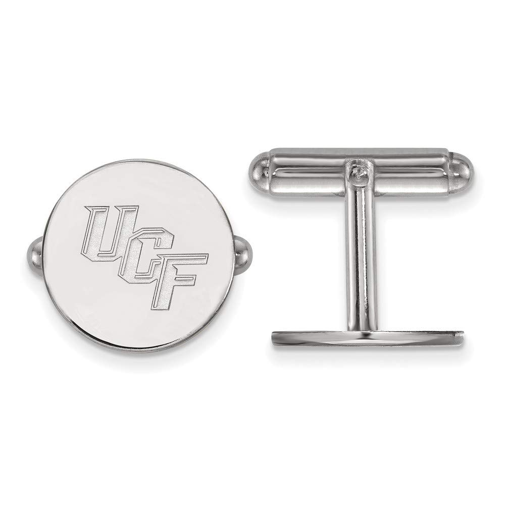 Roy Rose Jewelry Sterling Silver LogoArt University of Central Florida Cuff Links