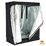 iPyarmid 48″x24″x60″ 600D Indoor Grow Tent Room Reflective Mylar Hydroponic Non Toxic Hut Review