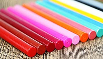 5 PCS Sealing Wax Sticks Multi-Color Cord Wick Sealing Wax For Postage Letter Retro Vintage Wax Seal Stamp Color : Red