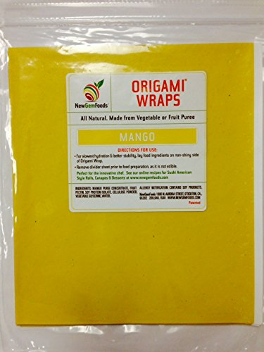 Mango Origami Sushi Wraps (Soy Wraps)
