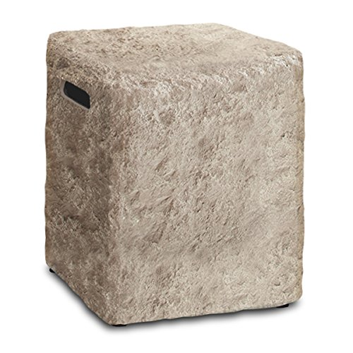 Real Flame 579-ANS Antique Stone Propane Tank Cover ()