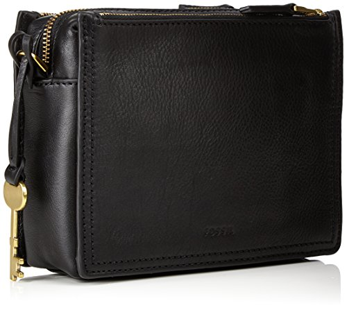 x T cm Schwarz Women's 5 Body Campbell Cross Bag B Fossil Black 5x19 H 6x15 wqC67vxXx