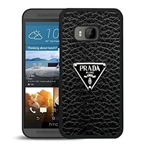 Beautiful Designed Case With Prada Logo Black For HTC ONE M9 Phone Case