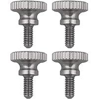 BQLZR - 4 tornillos de cabeza moleteada M2,5