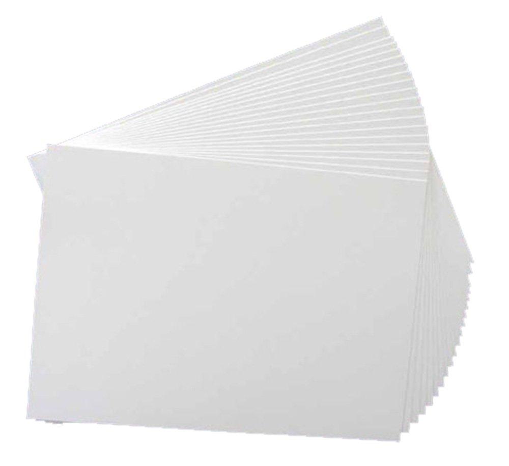 Creative World Of Crafts - Risma di carta da 350 g/mq, formato A4, adatta a diversi usi, colore: bianco Creative World Of Crafts Ltd 53921297