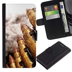 Planetar® Modelo colorido cuero carpeta tirón caso cubierta piel Holster Funda protección Para Sony Xperia Z1 Compact / Z1 Mini / D5503 ( Bullet )