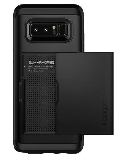 online store ab417 7525d Spigen Slim Armor CS Designed for Samsung Galaxy Note 8 Case (2017) - Black