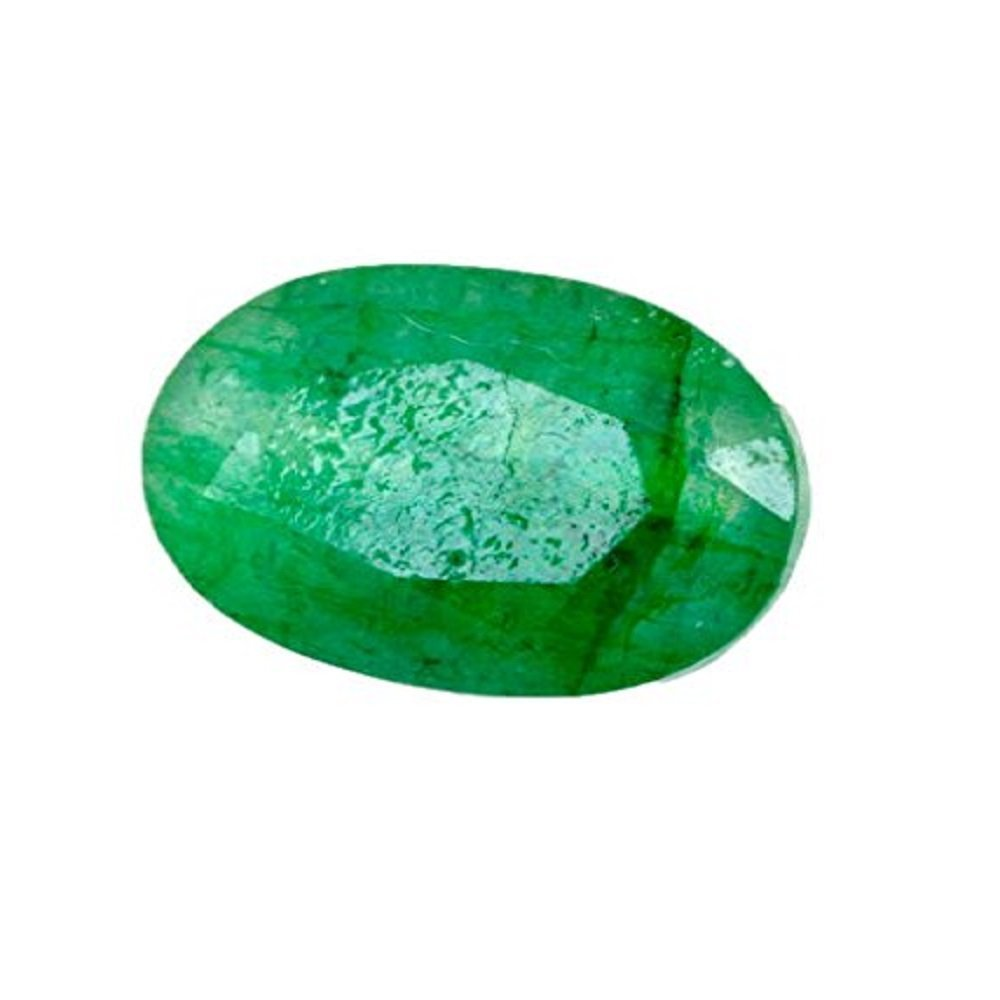 Skyjewel 6.50 Ratti Natural Panna - Emerald Gemstone with Certificate for Business Purpose