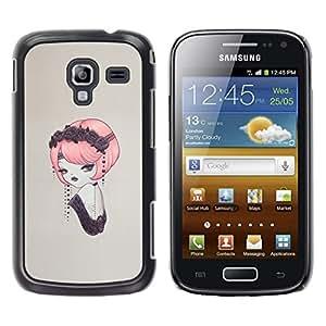 Stuss Case / Funda Carcasa protectora - Pin del vintage encima - Samsung Galaxy Ace 2