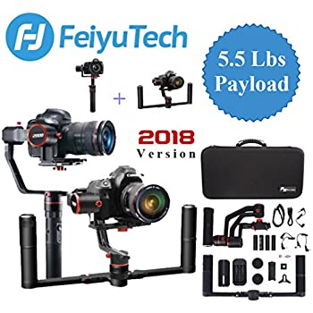Amazon Com Feiyu A2000 Gimbal With Dual Grip Handle Kit