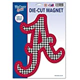 WinCraft Alabama Crimson Tide Official NCAA 6 inch x 9 inch Car Magnet by 704757