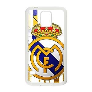 Real Madrid Club de F¨²tbol Fashion Comstom Plastic case cover For Samsung Galaxy S5