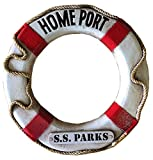 Piazza Pisano Nautical Home Port Life Ring Personalized