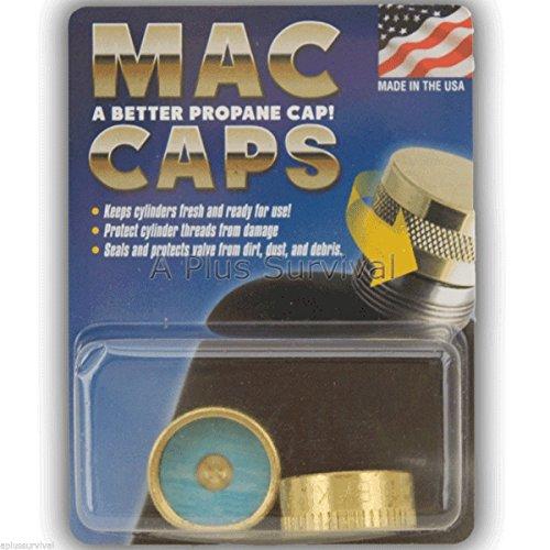 Bottle Cap Tank (Mac Coupler Propane Bottle Cap MacCaps)