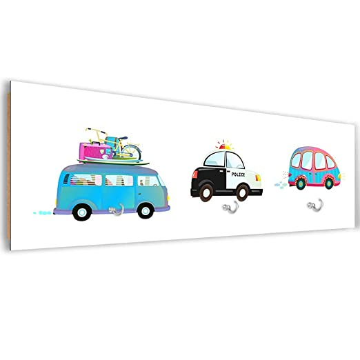 F FEEBY WALL DECOR Perchero Mural Moderno Automóviles Cuadro ...