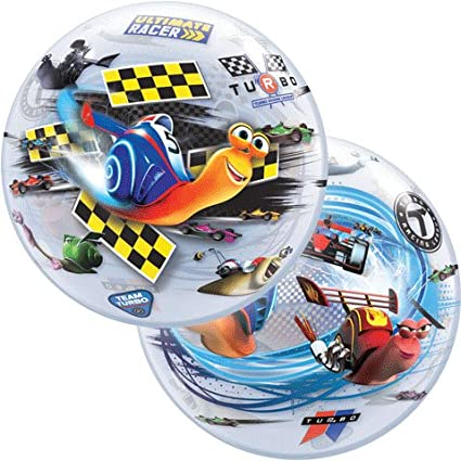"22"" Turbo Racing League Character Bubble Balloons"