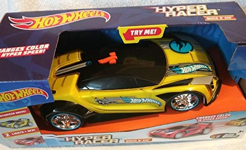 Toystate Hot Wheels Hyper Racer Quick N SIK - Yellow