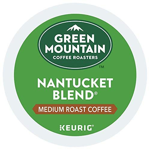 Green Mountain Coffee Roasters Nantucket Blend single serve K-Cup pods for Keurig brewers, 96 Count (Green Mountain Nantucket Blend K Cups Best Price)