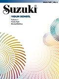 Suzuki Violin School - Volume 1 (Revised): Violin Part
