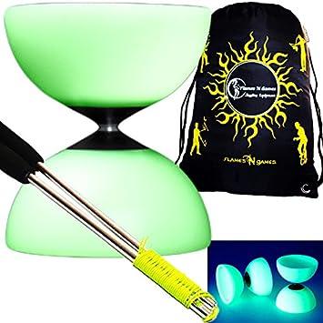 Bag Millennium Glow Diabolos glow In The Dark Diabolo Metal Diablo Sticks