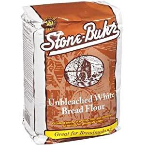Amazon.com : Stone-Buhr Unbleached Bread Flour, 5-Pound