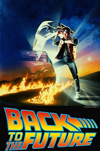 Back to the Future 1 2 3 poster 36 inch x 24 inch