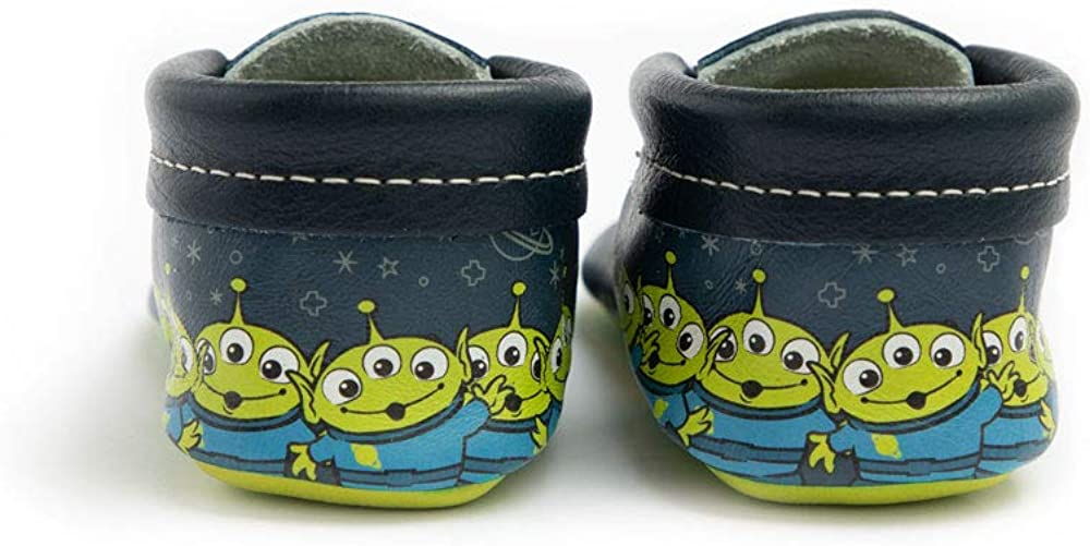 Toy Story Baby Girl//Boy Shoes Soft Sole Leather City Moccasins Freshly Picked
